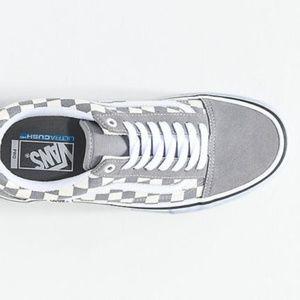 Vans Old Skool Pro Grey Checker White